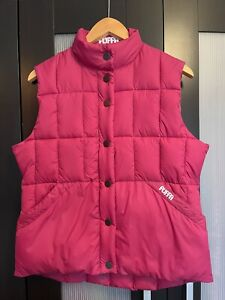 WOMANS PUFFA GILET UK 16 PINK EXCELLENT CONDITION