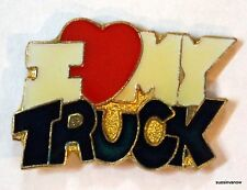 """I Love My Truck"" Hat Tie Tac Lapel Pin  Ford Dodge Chevy Toyota Monster Truck"