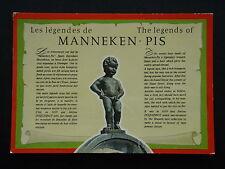 BRUSSELS THE LEGENDS OF MANNEKEN - PIS POSTCARD