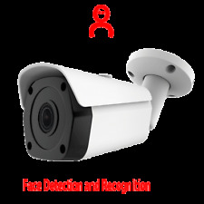 5MP SONY Starvis AI Store 5000 face info. detection distance 5M IP Bullet Camera