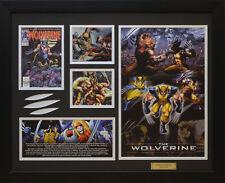 X-Men The Wolverine Marvel Comics Limited Edition Framed Memorabilia (b)