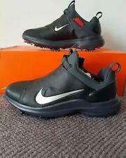 Nike Tour Premiere Golf Shoes - UK Size 11 - AO2241 002 - Black/Silver