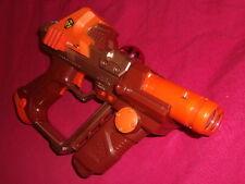 Lazer Tag Team Ops Orange Red Laser Gun Tiger Electronics Blaster WORKS