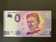 NULL-0-Euro-Souvenir-Schein 2020-2 # Nikola Tesla 1856-1943 # XEGX