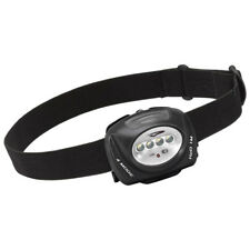 Princeton Tec Industrial Quad Headlamp Ultrabright LED Torch Camping Black Case