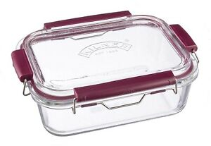 Kilner Fresh Storage - Stackable Airtight Glass Food Container - 1.4 Litre