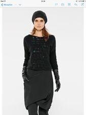 Sarah pacini pull court noir taille unique collection 2014