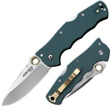 """Cold Steel Golden Eye Spear Point 3.5"""" S35VN Steel Forest Green G10 Hndle 62QFGS"""