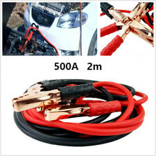 2M 500AMP Car Emergency Jump Leads Booster Cable Battery Start Jumper Universal