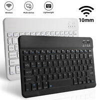 Mini Rechargeable Wireless Keyboard USB/2.4Ghz Mouse For Mac Apple PC Computer