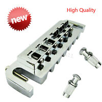High Quality Chrome Style Wrap around Bridge Tailpiece for LP Electric Guitar