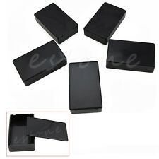 5Pcs DIY Plastic Electronic Project Box Enclosure Instrument Case 100x60x25mm