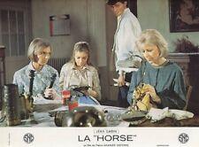 MARC POREL ELEONORE HIRT LA HORSE 1970 PHOTO D'EXPLOITATION VINTAGE #14