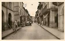 CP PHOTO ALGERIE BLIDA RUE D'ALGER