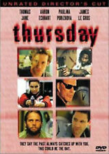 Thursday (DVD, 2000, Unrated Director's Cut) NEW Rare OOP