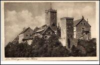 EISENACH um 1925 Thüringen Original Gravüre Karte Wartburg Burg Castle Postcard
