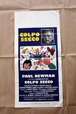 Locandina Originale Colpo Secco - Paul Newman - 33x70 CM