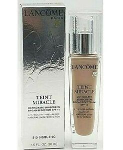 Lancome Teint Miracle Lit-from-Within Makeup SPF15 ~ 30 mL,  EXP. ~ Choose Shade