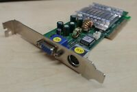 CARTE VIDEO AGP NVIDIA  GEFORCE  FX5200 128MB DDR TV