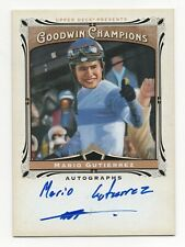 2013 Goodwin Champion Authentic Autograph Mario Gutierrez Kentucky Derby Jockey