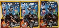 DC Super Heros Series 1 Micro Figure Sealed Blind Pack (3 Packs)