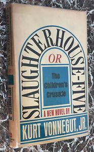 First Retail Edition~Slaughterhouse-Five, 1969 Kurt Vonnegut,w/ Orig Dust Jacket