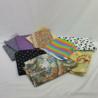 Fabric Lot 10 Piece Fabric Quilting Set