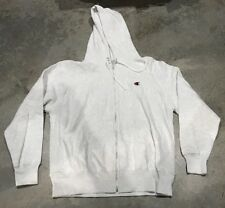 NWOT Large Stone Washed Champion Zippered Hoodie Sweater Buy It now $39obo