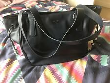 Esprit Navy Leather Handbag Bnwot New Without Tags