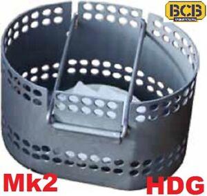 CRUSADER Mk2 STOVE COOKER BCB ALUMINIUM FIRE DRAGON fits MUG/CUP COOKING SYSTEM