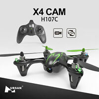 2019  Hubsan H107C X4 Drone 2.4G 4CH RC Quadcopter with 720P HD Camera LED RTF