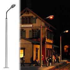 BUSCH 4137 échelle H0, Lampe de poteau béton (LBL) #neuf emballage d'origine#