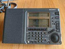 SONY ICF-SW77 FM/SW/MW/LW Weltempfänger Radio/World Band Receiver, Top Zustand!
