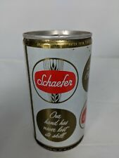 SCHAEFER BEER 10oz ss 4face CAN, New York, NY, Maryland, Pennsylvania 1970, gd.1