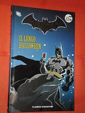 BATMAN LEGGENDA -N° 63 -il lungo halloween -CARTONATO- PLANETA-PLATINO -bat