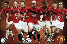 Manchester United Players 2009 - 2010 - Maxi Poster 61cm x 91.5cm (new & sealed)