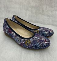 Ladies Gabor Pump Flower Topeka Night Size 4.5G Was £75