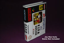 FIFA INTERNATIONAL SOCCER - Super Nintendo SNES FAH - Universal Game Case