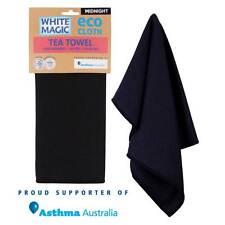 White Magic Individual Eco Cloth Tea Towel Midnight