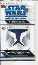Star Wars clone wars  , trading cards  pack
