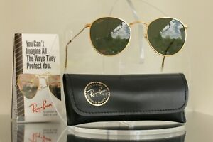Excellent: Bausch & Lomb Ray Ban USA Classic Metal Round John Lennon, BL Vintage