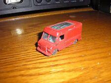 Vintage Husky Commercial Walk-Thru Delivery Van Red