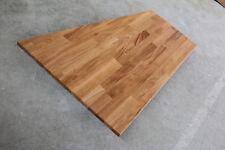 Tischplatte Regalbrett Platte Eiche Keilgezinkt Massiv Holz Leimholz Brett NEU