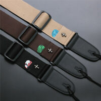 Guitar Fashion Straps Pick Holder Vintage Cross High Quality Pack 3 in 1 SET