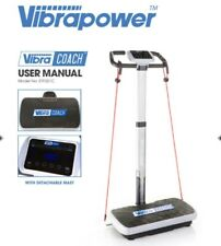 VIBRAPOWER COACH power fitness vibration plate exercise machine cardio workout