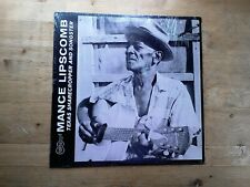 Mance Lipscomb Texas Sharecropper & Songster VG Vinyl Record Arhoolie F1001