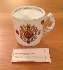 1981 Aynsley Commemorative Mug - Marriage Prince Charles & Lady Diana Spencer