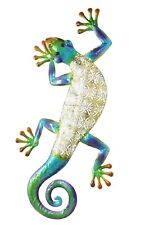 indoor Or Outdoor Metal Gecko 31cm x 9 cm
