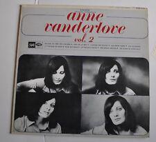 - ANNE VANDERLOVE Vol.2 LP Record Pathe -