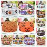"5Yards 7~8""Halloween Grosgrain Ribbon Craft Spider Pumpkin multiple Party Decor"